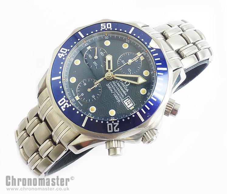 Omega Seamaster Automatic Chronograph Titanium - OME 571 b868907c8bf