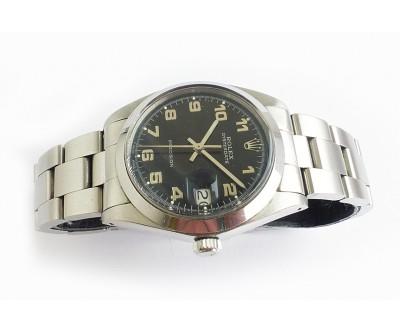 Rolex Oysterdate Precision Black Dial - ROL 653