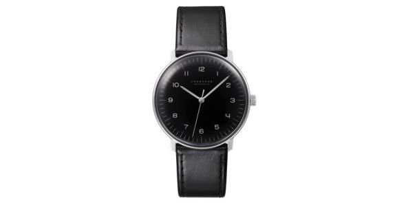 Max Bill By Junghans - Automatic Black Dial - MXB 16