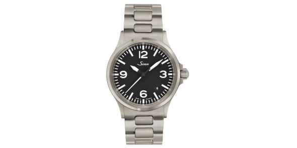 Sinn Automatic Pilots Watch 556 A Sinn 556 A on Bracelet - SIN 95a2