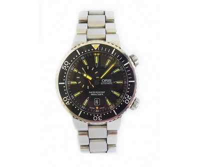 Oris Small Seconds 1000 Metre Divers Watch - ORS 54