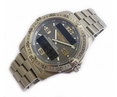 Breitling Chronometre Aerospace in Titanium - BRL 194