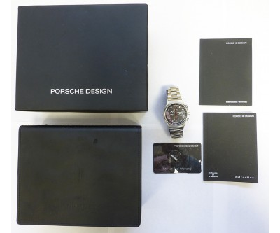 Porsche Design Stainless Steel Chronograph By Eterna. - PDN 35