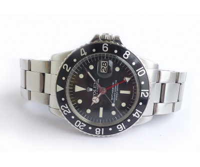 Rolex Oyster Perpetual GMT Master. Vintage Model 1675 - ROL 660