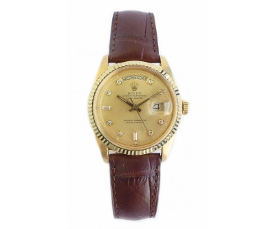 Rolex Oyster Perpetual Day-Date 18k Yellow Gold - ROL 525-663
