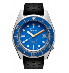 Squale Squale 1521 Sand Blasted Case 1521BLUEBL.NT