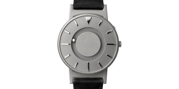 Eone Bradley Titanium with Black Strap - BR-C-BLACK