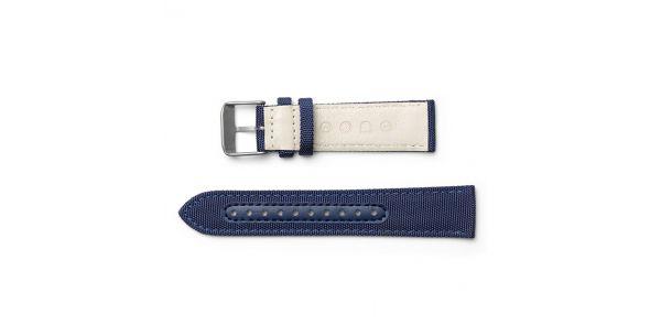 Eone Bradley Titanium with Blue Strap - BR-C-BLUE