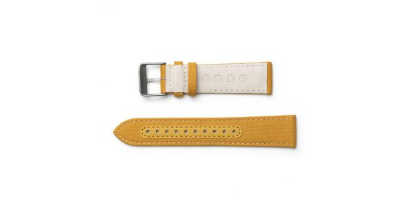 Eone Bradley Titanium with Yellow Strap - BR-C-YELLOW