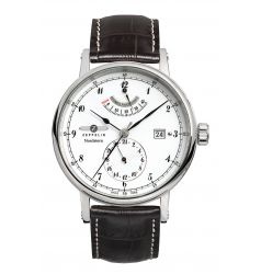 Zeppelin Nordstern Power Reserve White Dial Automatic 7560-1