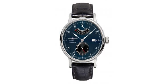 Zeppelin Nordstern Power Reserve Blue Dial Automatic - 7560-3