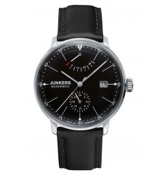 Junkers Junkers Bauhaus Automatic Power Reserve Black Dial 6060-2