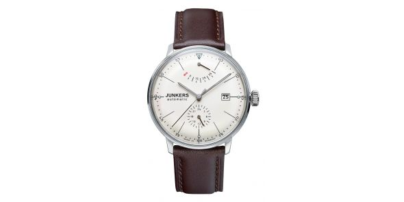 Junkers Bauhaus Automatic Power Reserve Cream Dial - 6060-5