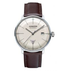Junkers Junkers Bauhaus Automatic Cream Dial Index 6050-5