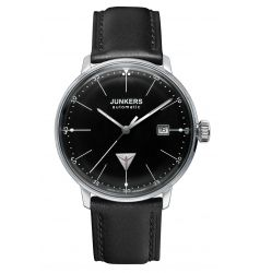 Junkers Junkers Bauhaus Automatic Black Dial Index 6050-2