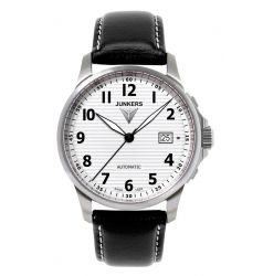 Junkers Junkers Tante JU Automatic Silver Dial 6860-1