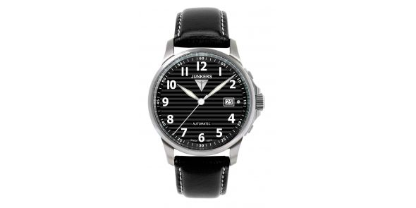 Junkers Tante JU Automatic Black Dial - 6860-2