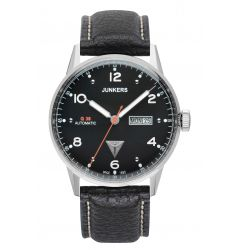 Junkers Junkers G38 Automatic Day Date Black Dial 6966-2