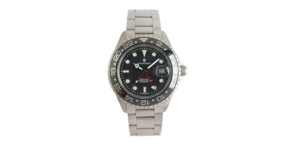 Steinhart GMT Ocean 1 Black Ceramic - Automatic Diver. - 0833