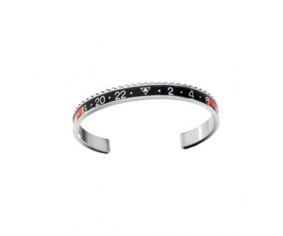 Classic Series - Black Red Bangle - STE BLK/RED