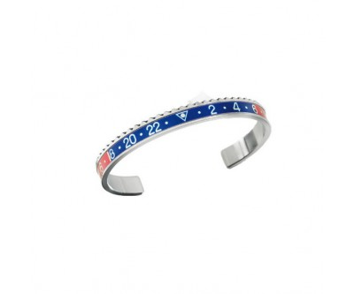 Classic Series - Blue Red Bangle - STE BLU/RED