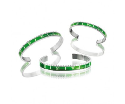 Classic Series - Green Bangle - STE GRN