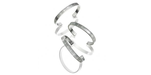 Classic Series - Silver Bangle - STE SIL