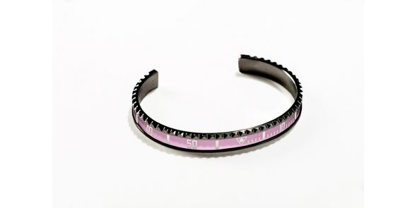 Black Series - Pink Bangle - BLK PNK