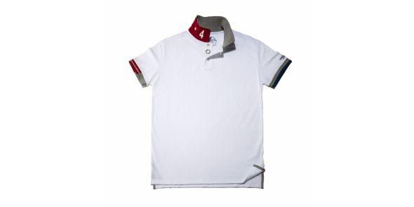 Classic White Polo Shirt - POLO W