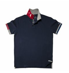 Speedometer Official Classic Navy Blue Polo Shirt B