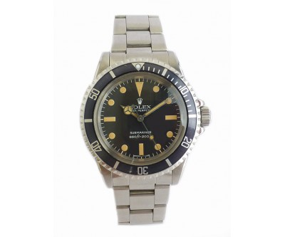 Rolex Submariner - Reference 5513 Rolex Serviced - ROL 661
