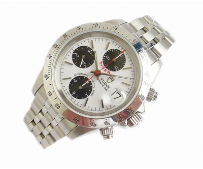Tudor Tiger Prince Date Automatic Chrono Time Rolex Serviced - TUD 48