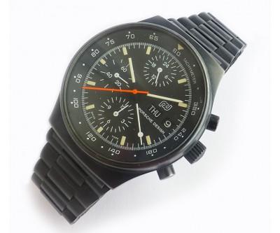 Orfina Porsche Design Black Steel Chronograph - PDN 36