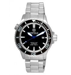 Deep Blue Master 1000 Automatic Ceramic Bezel Dial Blue Hands DB 4