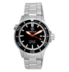 Deep Blue Master 1000 Automatic Ceramic Bezel Black/Orange DB 5