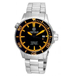 Deep Blue Master 1000 Automatic Ceramic Bezel Diver Orange DB6