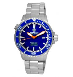 Deep Blue Master 1000 Automatic Ceramic Bezel Diver Blue DB 8