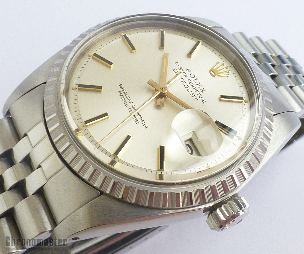 rolex oyster perpetual datejust vintage 1977 unused old