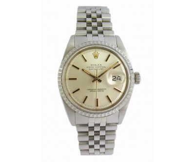Rolex Oyster Perpetual Datejust. Vintage 1977 Unused Old Stock - ROL 665