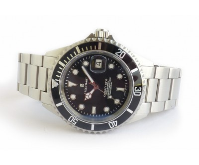 Steinhart Ocean 1 Black - Automatic Diver. Pre Owned - NWW 1288