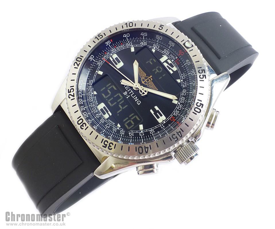 breitling b1 professional pilot chronograph brl 200 chronomaster uk rh chronomaster co uk B1 Breitling with UTC Watches B1 Crosswind Breitling Super Quartz