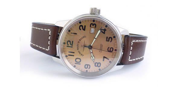 Zeno Classic Pilot Copper Dial - ZNN 08