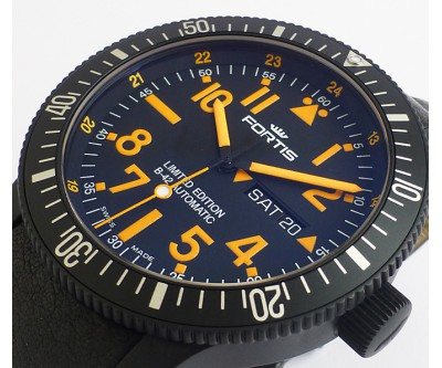 Fortis B-42 Black Mars 500 Limited Edition - NWW 1301