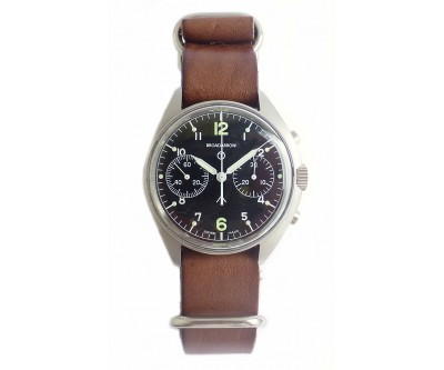 Broadarrow Military Hand Wound Chronograph - NWW 1302