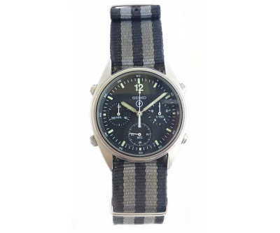 Seiko Generation 1 RN Helicopter Pilot Watch Military Issue - NWW 1310