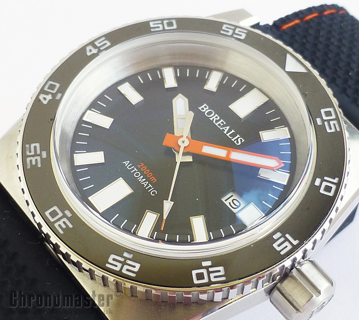 Borealis Scorpionfish Automatic Retro Divers Watch NWW 1332 | Chronomaster UK