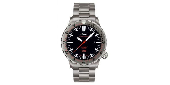 Sinn UX Einsatzzeitmesser 2 B (EZM 2 B) Officially Certified Chronometer on bracelet - SIN 57b