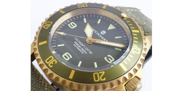 Steinhart Ocean 1 Bronze - Green Bezel - 103-0575
