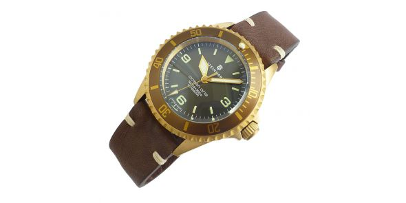 Steinhart Ocean 1 Bronze - Light Brown Bezel - 103-0574