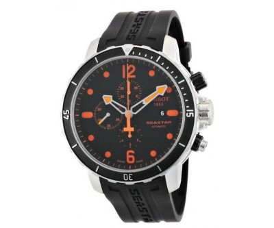 Tissot Seastar 1000 Automatic Chronograph Orange - NWW 1335